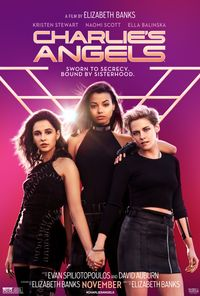 Charlie's Angels (2019) movie poster