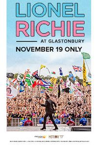 Lionel Richie At Glastonbury movie poster