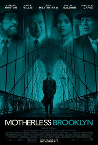 Motherless Brooklyn movie poster
